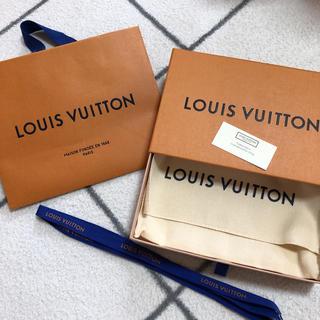 ルイヴィトン(LOUIS VUITTON)のLOUIS VUITTON 財布 空箱 ショップ袋(ショップ袋)