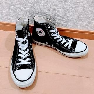 CONVERSE - コンバースハイカット黒 25cm