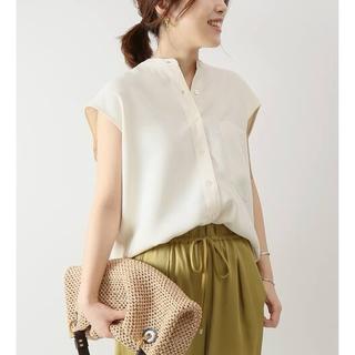 Spick and Span - スピックアンドスパン☆Peスパンツイルシャツ 新品ホワイトA