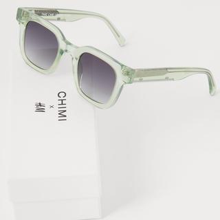 エイチアンドエム(H&M)のCHIMI × H&M サングラス グリーン(サングラス/メガネ)