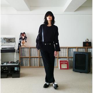 サンシー(SUNSEA)のSUNSEA 19ss TEKETEKE BLACK Size3(スラックス)
