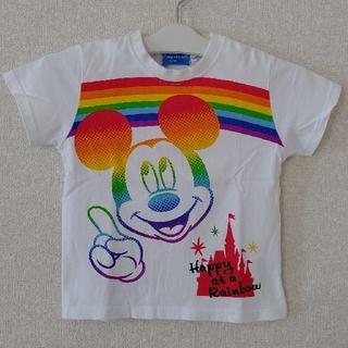 ディズニーリゾート/ ミッキーマウス 半袖 Tシャツ / 110cm