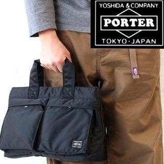 PORTER - 美品!PORTER/吉田カバン(ポーター)タンカー トートバック ブラック