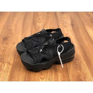 ナイキ(NIKE)のナイキ ウィメンズ エアマックス ココ サンダル ブラック/ホワイト24.0cm(サンダル)