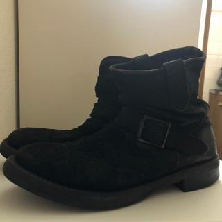 イサムカタヤマバックラッシュ(ISAMUKATAYAMA BACKLASH)のbacklash バックラッシュ エンジニアブーツ スエード(ブーツ)