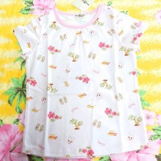 ミキハウス(mikihouse)のミキハウス(HOT.B)♥新品タグ付き♥総柄Ꭲシャツ♥110cm(Tシャツ/カットソー)