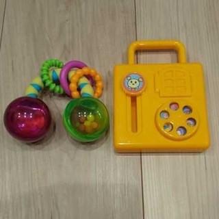サッシー(Sassy)の☆セット販売☆ 赤ちゃん おもちゃ がらがら ラトル(がらがら/ラトル)