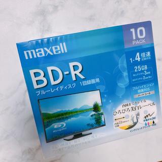 マクセル(maxell)のマクセル Maxell  ブルーレイディスク 一回録画 【10pack】(ブルーレイレコーダー)