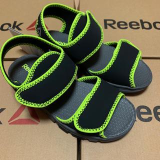 Reebok - 19cm リーボック キッズ サンダル CN8609 黒