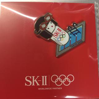 エスケーツー(SK-II)のSK-II バッチ 非売品(バッジ/ピンバッジ)