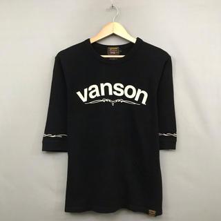 バンソン(VANSON)の【美品 良品】【コラボ】バンソン vanson ジャックローズ ワッフル地(Tシャツ/カットソー(七分/長袖))