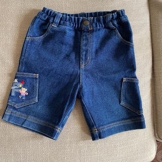 ファミリア(familiar)のファミリア デニム  短パン ハーフパンツ 半ズボン familiar 80(パンツ)
