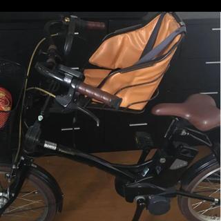 ブリヂストン(BRIDGESTONE)の自転車二人乗りチャイルドシート5歳まで(自動車用チャイルドシート本体)