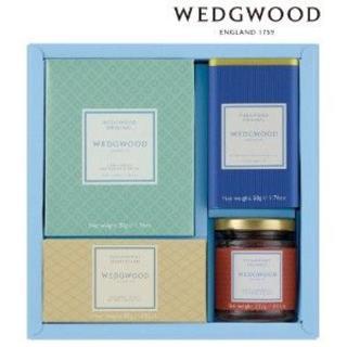 ウェッジウッド(WEDGWOOD)のウエッジウッドシグニチャー 紅茶・コーヒー・ジャム・ショートブレッドセット(その他)