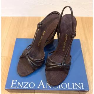 エンゾーアンジョリーニ(Enzo Angiolini)の新品☆enzo angiolini エンゾーアンジョリーニ  サンダル 22cm(サンダル)