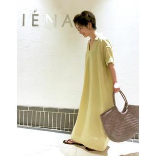 IENA - iena  今期購入 スキッパーロングワンピース