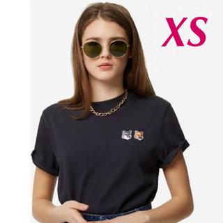 メゾンキツネ(MAISON KITSUNE')の新品未着用★ メゾンキツネ MAISON KITSUNE  Tシャツ  XS(Tシャツ(半袖/袖なし))