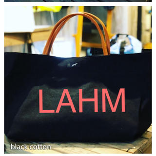 【2020NEW】LAHM COTTON TOTE BAG(トートバッグ)