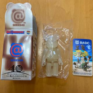 メディコムトイ(MEDICOM TOY)のベアブリック  シリーズ40 BASIC【I】(その他)