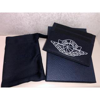 クリスチャンディオール(Christian Dior)のAir Dior card holder case navy jordan(名刺入れ/定期入れ)