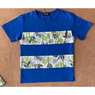 kladskap - 新品!クレードスコープkladskap 動物ボタニカル柄切り替え半袖Tシャツ♪