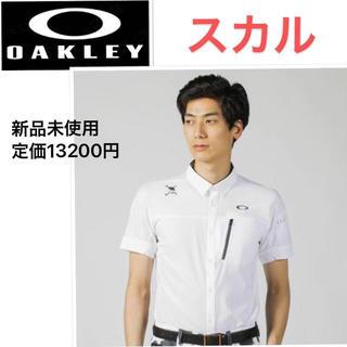Oakley - 新品 オークリー  スカル 半袖シャツ ゴルフシャツ L
