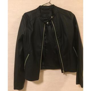 ユニクロ(UNIQLO)のユニクロ ライダースジャケット(ライダースジャケット)