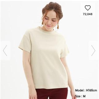 GU - GU スムースTシャツ ナチュラル