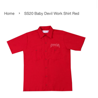 シュプリーム(Supreme)のpeels 20ss baby devil work shirt ワークシャツ (シャツ)