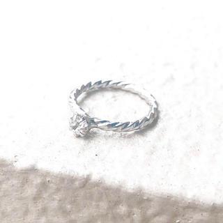 ヨンドシー(4℃)のpre-marry ring* 結婚準備リング (リング(指輪))