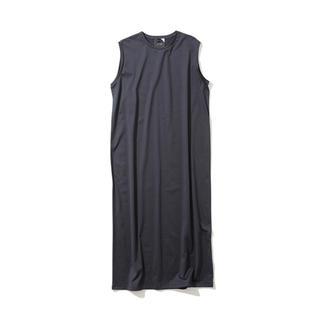 デミルクスビームス(Demi-Luxe BEAMS)の新品  aton  suvin タンクトップドレス navy(ロングワンピース/マキシワンピース)