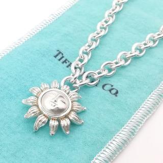 ティファニー(Tiffany & Co.)の希少 美品 ヴィンテージ ティファニー サンフェイス ネックレス JG14(ネックレス)