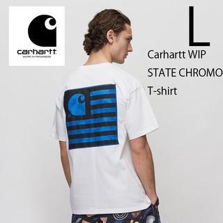 carhartt - L 新品 カーハートWIP STATE CHROMO Tシャツ 白