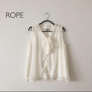 ロペ(ROPE)のロペ  ブラウス ボウタイ (シャツ/ブラウス(半袖/袖なし))
