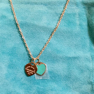 ティファニー(Tiffany & Co.)のハート heart リターン 925 ノベルティ (ネックレス)