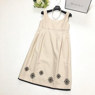 FOXEY - 美品 定価13万円 フォクシー FOXEY 美しい刺繍 サマードレス ワンピース