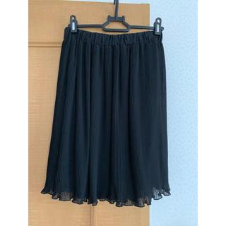 デュラス(DURAS)の♡DURAS♡プリーツスカート♡ブラックF(ひざ丈スカート)