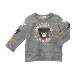 mikihouse - ミキハウス ダブルビー クマドンプリント柄の長袖Tシャツ 130cm