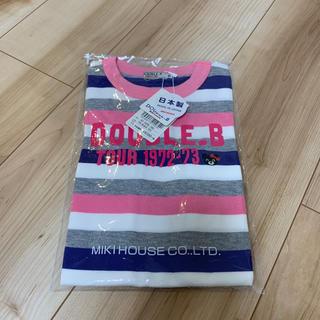 DOUBLE.B - 【新品】ダブルビー  半袖Tシャツ