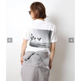 ドゥーズィエムクラス(DEUXIEME CLASSE)の【新品】Deuxieme Classe Photo T-shirt  ホワイトA(Tシャツ(半袖/袖なし))