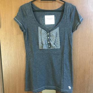 アバクロンビーアンドフィッチ(Abercrombie&Fitch)のアバクロ☆ レース付Tシャツ(Tシャツ(半袖/袖なし))