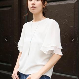 レプシィムローリーズファーム(LEPSIM LOWRYS FARM)のLEPSIM フレア袖プルオーバー 半袖Tシャツ(Tシャツ(半袖/袖なし))