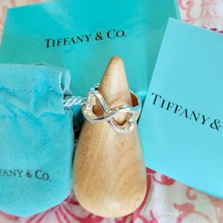 ティファニー(Tiffany & Co.)のティファニー ダブルラビングハート リング 9号(リング(指輪))