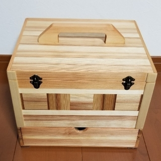 木 救急 薬 箱(インテリア雑貨)
