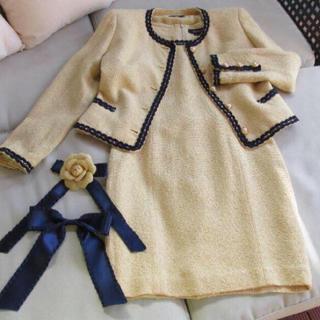 ロペ(ROPE)のツイードワンピスーツ(スーツ)