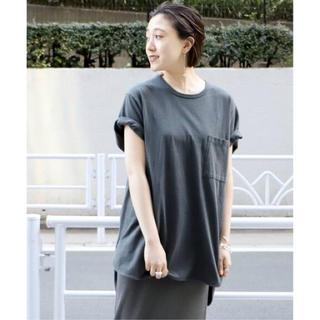 プラージュ(Plage)のPlage CALUX ポケット Tシャツ(Tシャツ(半袖/袖なし))
