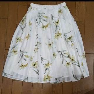アールディールージュディアマン(RD Rouge Diamant)の未使用 Rougediamnt 花柄スカート(ひざ丈スカート)