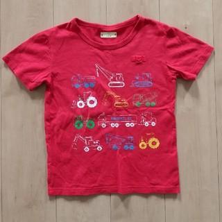ベルメゾン(ベルメゾン)の140  GITA  車柄  半袖Tシャツ(Tシャツ/カットソー)