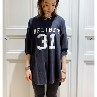 DEUXIEME CLASSE - 新品未使用  Americana 別注バックヘンリーTシャツ グレーC