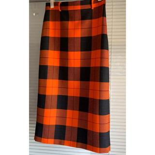 ザラ(ZARA)のタグ付新品!大人気チェックタイトスカート(ひざ丈スカート)